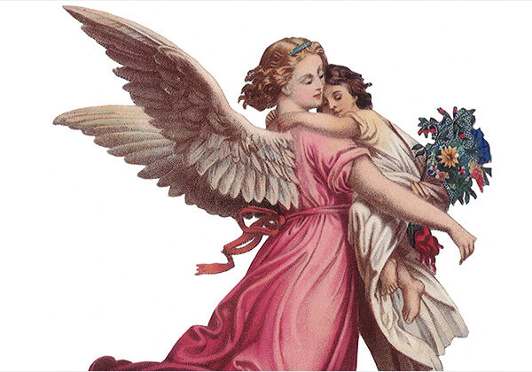 天使のイメージ(守護天使)
