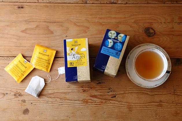 ハーブティ『ゾネントア 守護天使のお茶』『ゾネントア 月の満ち欠けのお茶』